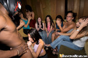 party girl gives blowjob training